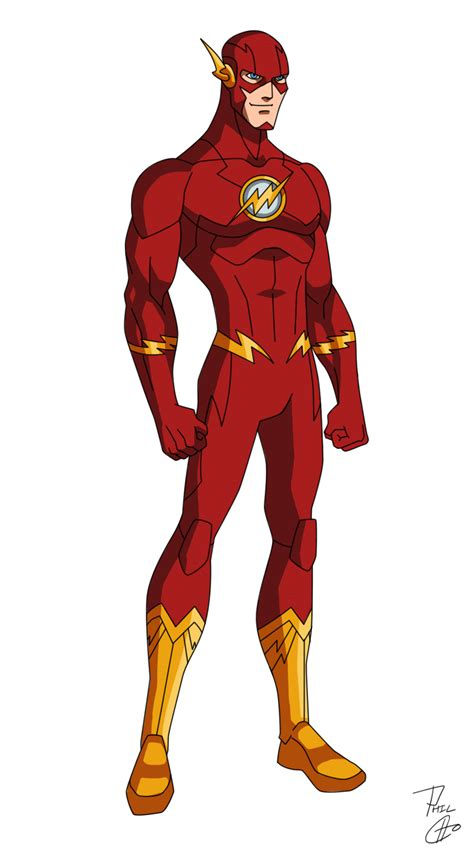 Flash New 52 the flash new 52 by phil cho on deviantart