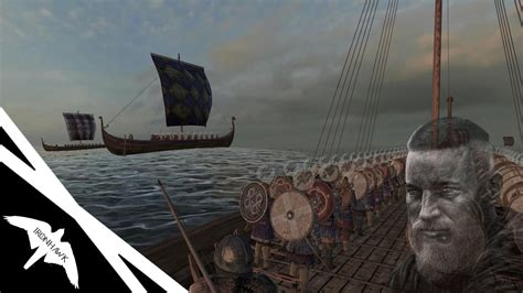 mount and blade viking conquest guide ragnars viking fleet attacks england mount blade viking conquest dlc youtube