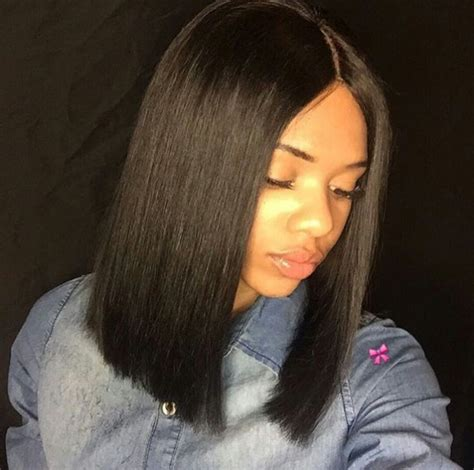 bob hairnstraight in the middle pin by onexx on h a i r pinterest bobs hair