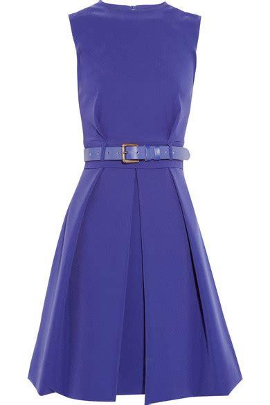 Lq Dress Strect preen by thornton bregazzi grace pleated stretch crepe dress net a porter