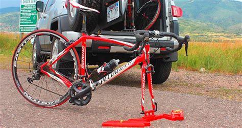 In Car Bike Rack by Steepgrade S In Car Bike Racks Make Bike Moving Simple And