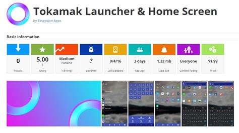 tokamak launcher home screen fusion 4 freedom fuel r
