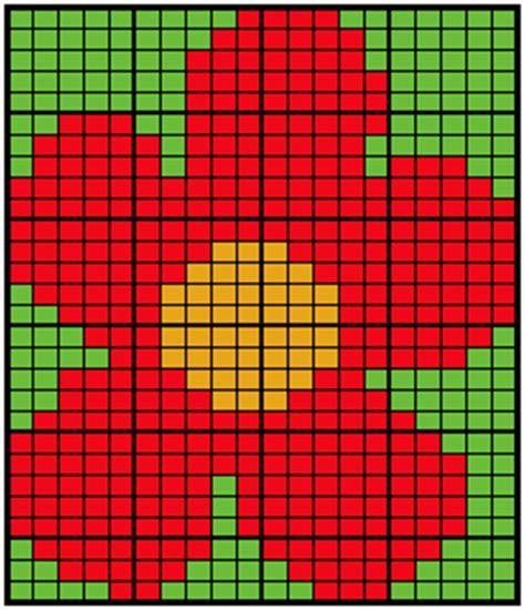 knitting pattern writing software free knitting chart large intarsia flower