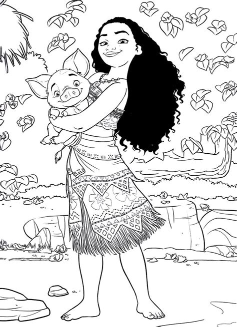 Coloring Page From Photo by Top 10 Moana Coloring Pages Free Printables Coloring