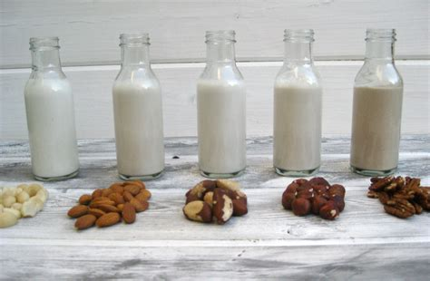 how to make plant based quot milks quot vegetarian times