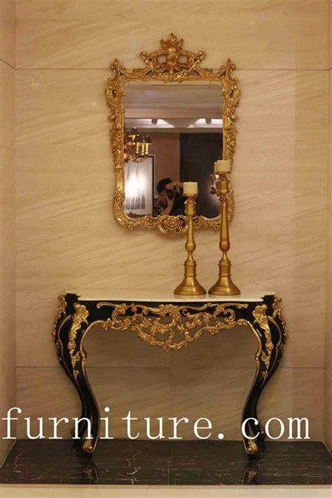 Entrance Mirrors And Tables Entrance Table Decorations Console Table Wood Console Table With Mirror Antique Wall Table Wood