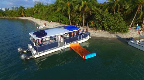south beach party boats catamaran boat and yacht excursions - Flyer Catamaran Excursions Miami