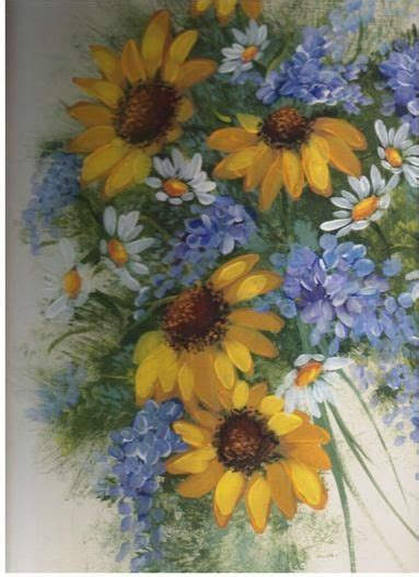 images   stroke painted flowers