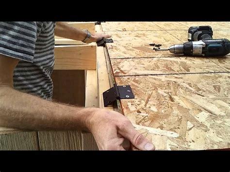 build  generator enclosure part  installing shed