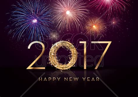 new year images 2017 happy new year greeting vector image 1940328
