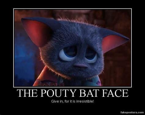 Pouty Face Meme - hotel transylvania mavis bat face vires
