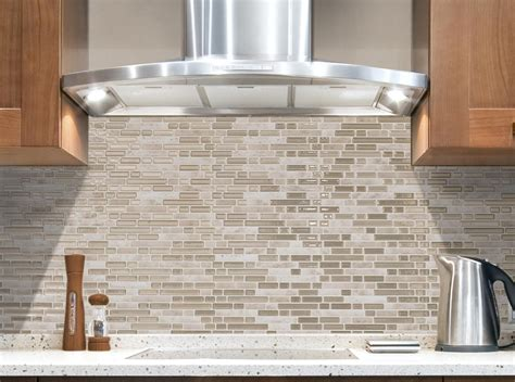 kitchen backsplash stick on tiles quality peel and stick glass tile backsplash self adhesive