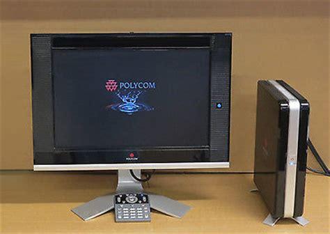 polycom hdx 4000 4002 hd desk top conferencing telepresence vc system