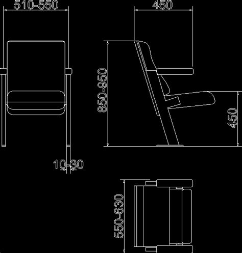 Lounge Chair Cad by Dwg Projects 3d Projects Cad Tools 3ds Max Dxf