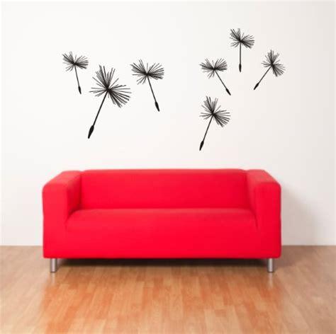 Folienaufkleber Blumen by Wandtattoo Pusteblume