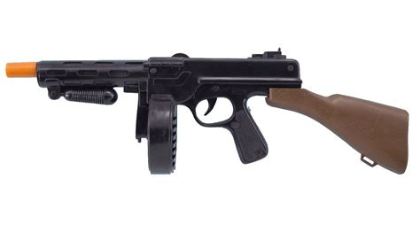Cheap Decorations For Home by Tommy Gun Toy Plastic 20 Inch Gangster Gun Toy Machine Gun