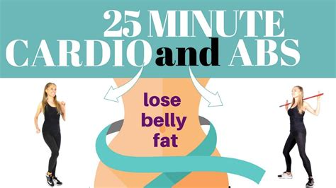 25 minute home cardio calorie burning workout to lose