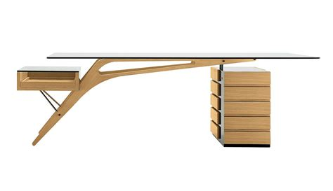 design desk zanotta cavour writing desk by carlo mollino design is this