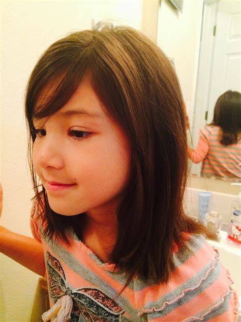 haircut for 8year old girls w bangs 17 best ideas about girl haircuts on pinterest girls