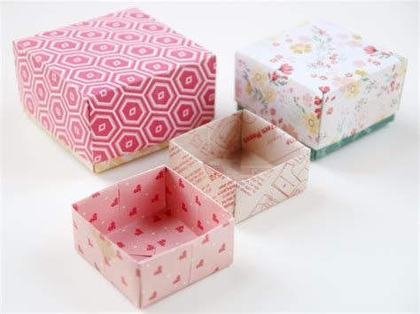making origami gift boxes diy origami gift boxes gathering beauty