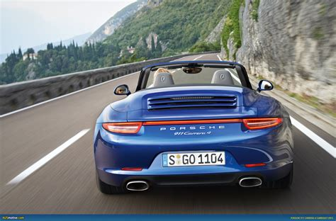 porsche 911 carrera 4s ausmotive com 187 porsche 911 carrera 4 and 4s revealed