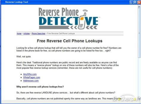 Lookup Phone Usa Phonedetective Has Been Formally Designated Usa S Quot Best Cell Phone Lookup