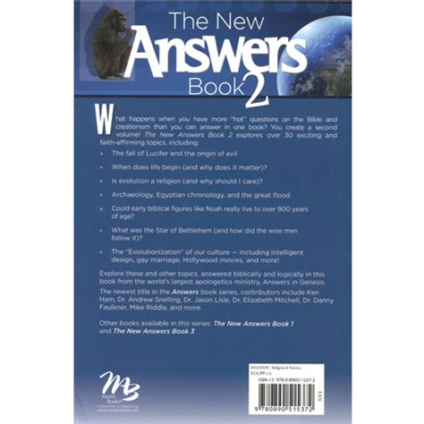 new answers book 2 the new answers book 2 creation today