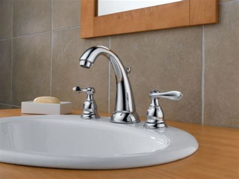 delta windemere 2 handle chrome 8 quot widespread bathroom delta b3596lf foundations windemere two handle widespread