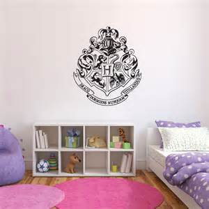 harry potter wall stickers harry potter hogwarts crest wall decal