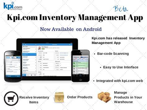 mobile management software kpi inventory management software on mobile now