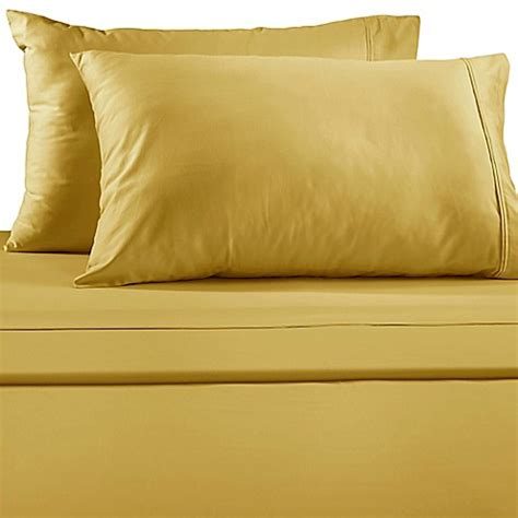 yellow bed sheets buy lakeside twin sheet set in yellow from bed bath beyond
