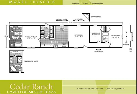 3 bedroom mobile home floor plans houseofaura 3 bedroom mobile home floor plans 3 bedroom single wide mobile home floor