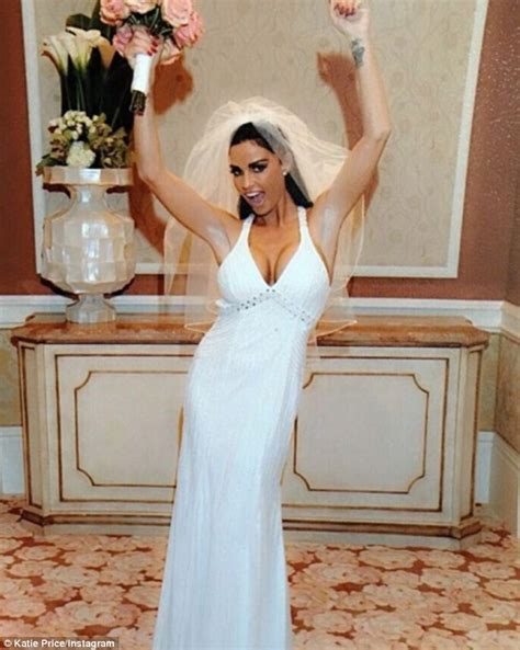 Katie Price is selling her wedding dress on eBay from her