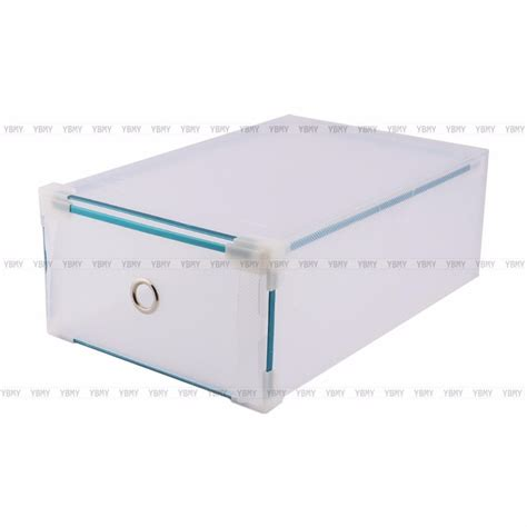 clear shoe storage boxes drawer 5x clear plastic see through drawer shoe storage box metal