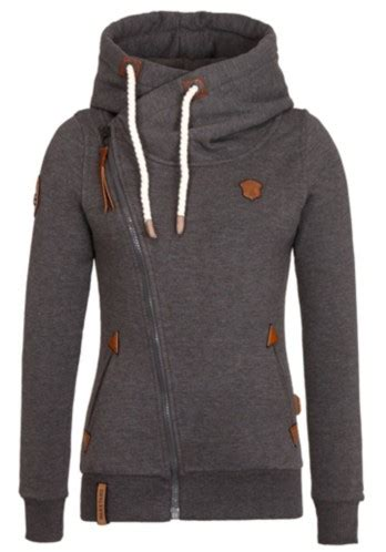 Zip Side Hoodie side zipper hoodie womens trendy clothes