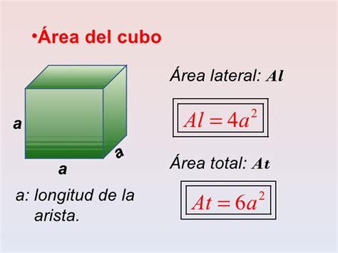 calcular a area da superficie de um cubo perimetro de un cubo imagui