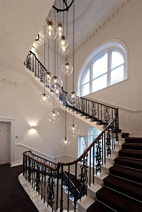 Staircase Lighting Fixtures 15 Blown Glass Pendant Lighting Ideas For A Modern And Sleek Glow