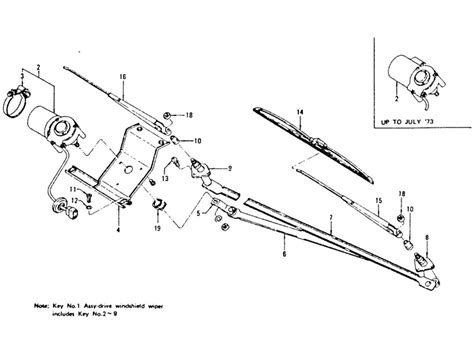 datsun windshield wiper motor datsun wiring diagram and