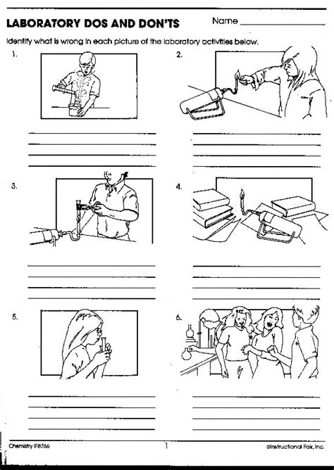 Science Lab Safety Worksheet by 130 Best Images About Safety In The Science Lab On