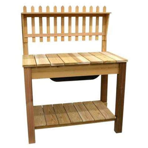 potting bench home depot potting bench pots planters garden center the home