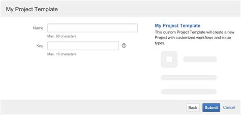 Creating A Project Template Jira Task Template