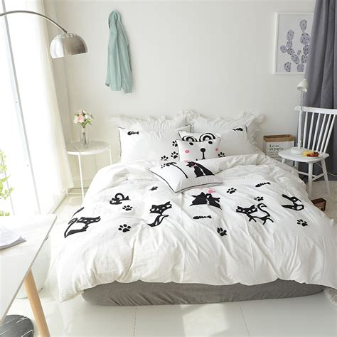 cat bed sheets cat sheets twin 1664