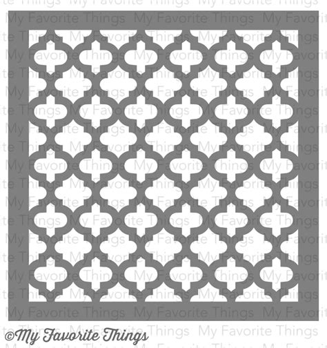 moroccan tile template 4 days until the december release