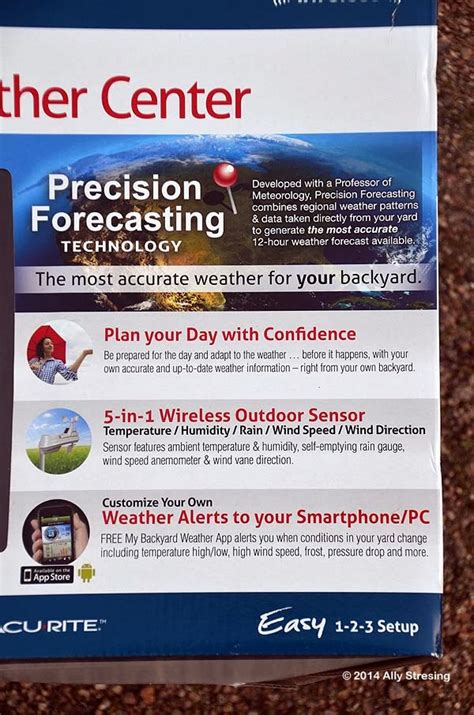 acurite my backyard weather garden ally my backyard weather station