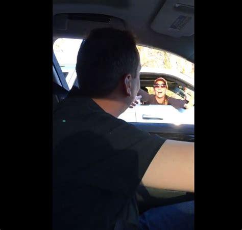 Kyle Busch Surprises Fan In Car Following