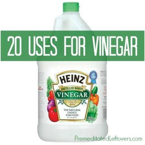 Unique Ways To Use Vinegar Around Your House by 60 Best Household Tips Tricks Images On