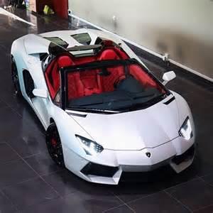 Lamborghini Aventador White Interior Rims Black White On Instagram