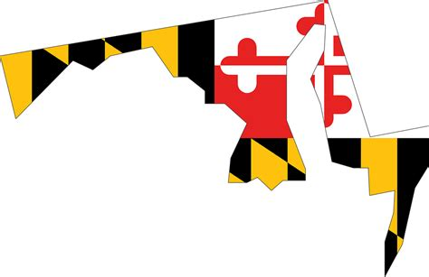 maryland flag map letters to a librarian seven states so far