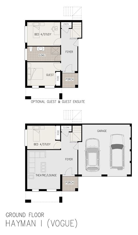 floor plans for sloping blocks denman split level sloping block marksman homes