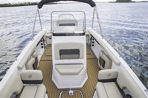 deck boat with center console cc 21 ob center console hurricane deck boats